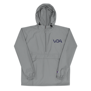 VGA Embroidered Champion Packable Jacket