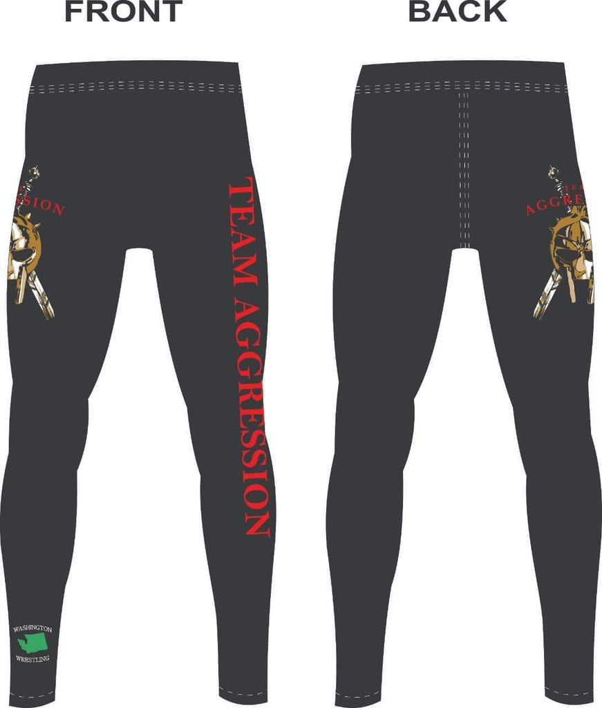 Aggression Spandex Leggings