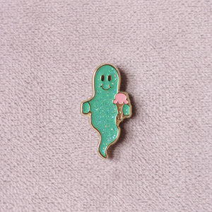 Spoopy Ghost Pin - ThePinCartel
