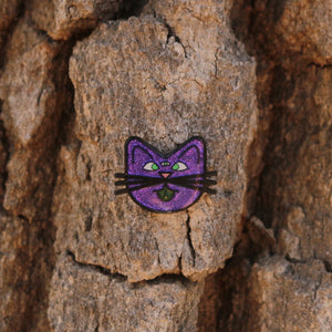 Three Eyed Cat Pin - ThePinCartel