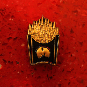 Wutang Ganster Fries Pin - ThePinCartel