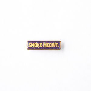 Smoke Meowt Pin