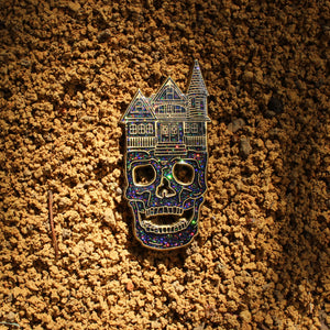 Daydreaming Skull Pin V2 - ThePinCartel