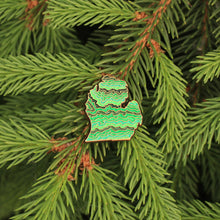 Michigan Mitten Pin - ThePinCartel