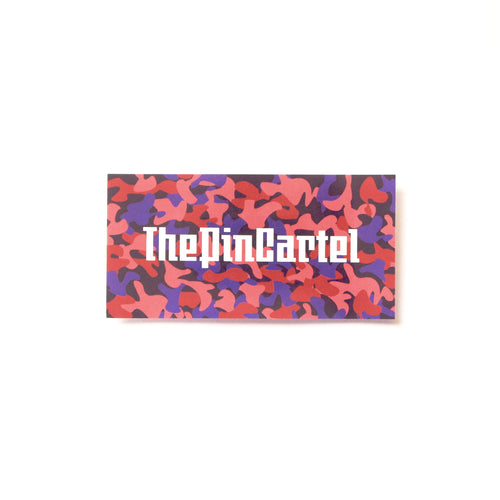 5 Pack TPC Camo Box Stickers - ThePinCartel