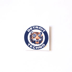Detroit Techno Tigers Sticker - ThePinCartel