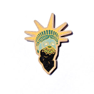 "Lady ""Liberty"" Sticker - ThePinCartel"