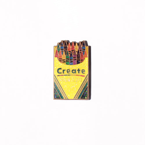 Create Your Life Crayola Remix Pin - ThePinCartel