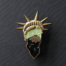 "Lady ""Liberty"" New York Statue of Liberty Pin"
