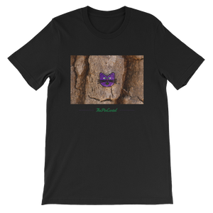 Purple Kitty T-shirt - ThePinCartel