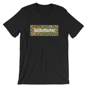 Green/Brown Camo Box T-Shirt - ThePinCartel