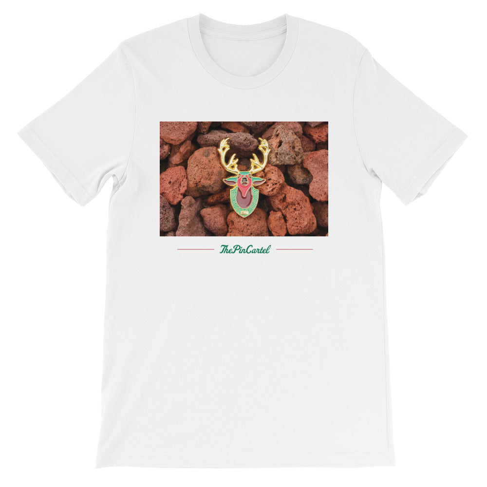 Mounted Deer T-Shirt - ThePinCartel