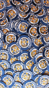 Vintage Detroit Tigers Techno Patch - ThePinCartel