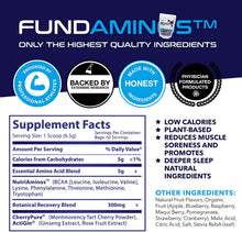 FUNDAMINOS™  - Plant-Based Essential Amino Acid Powder