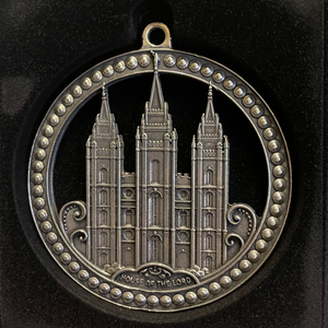 Salt Lake City Utah Temple Ornament