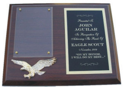 Eagle Scout Plaque - Cherry Finish