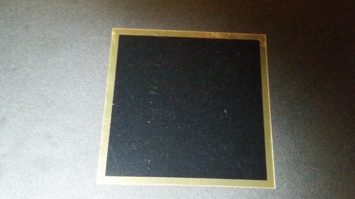 Replacement Plate Square/Gold