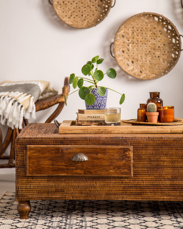 Tropical Hideaway Decor with our Mandalay Rattan Collection