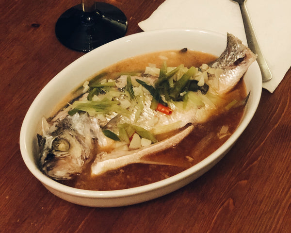 Steamed Sea Bass with Lime
