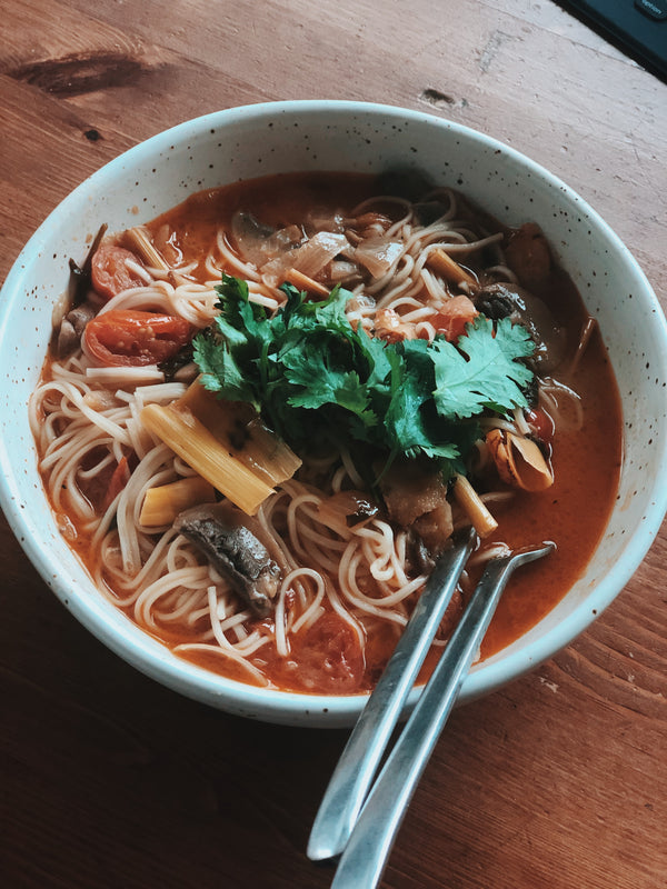 Tom Yum Goong Noodle Recipe