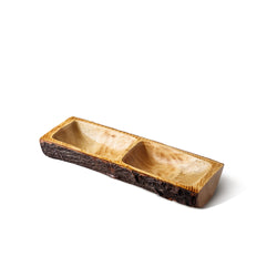 Acadian Two Section Rectangle Tray