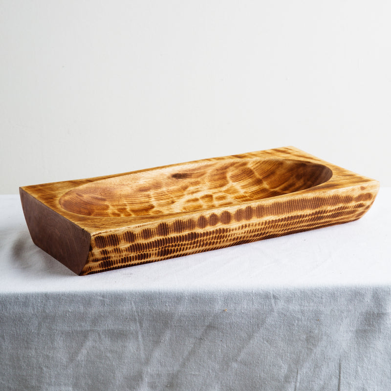 Keru Rectangle Reclaimed Wood Bowl | Indochine Maison