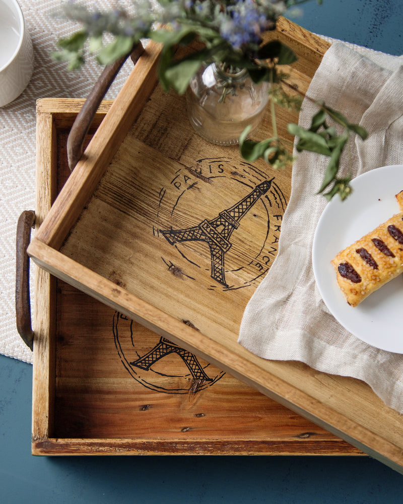 Madulkelle Eiffel Tower Trays - Set of 2 | Indochine Maison