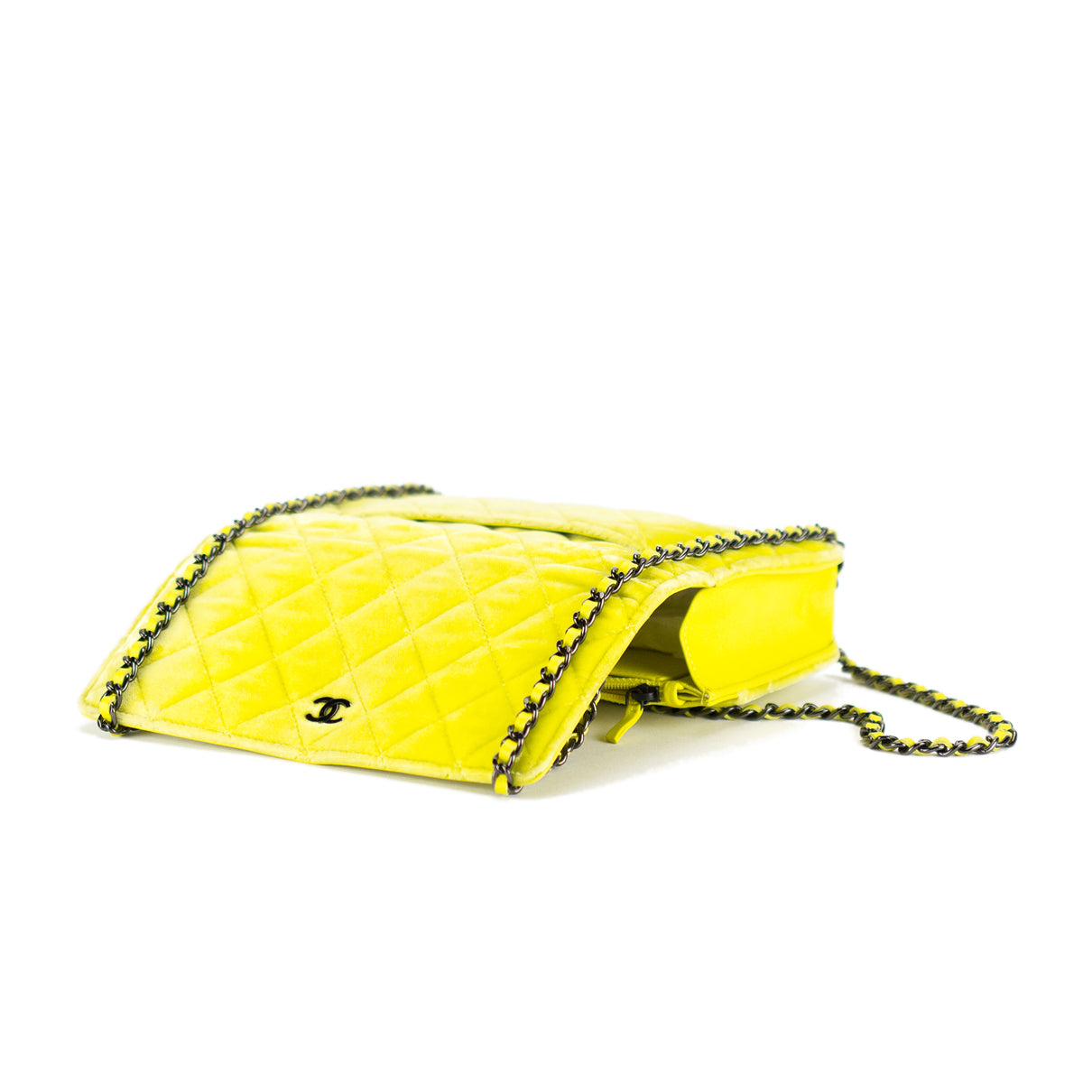 Velvet Lemon Flap