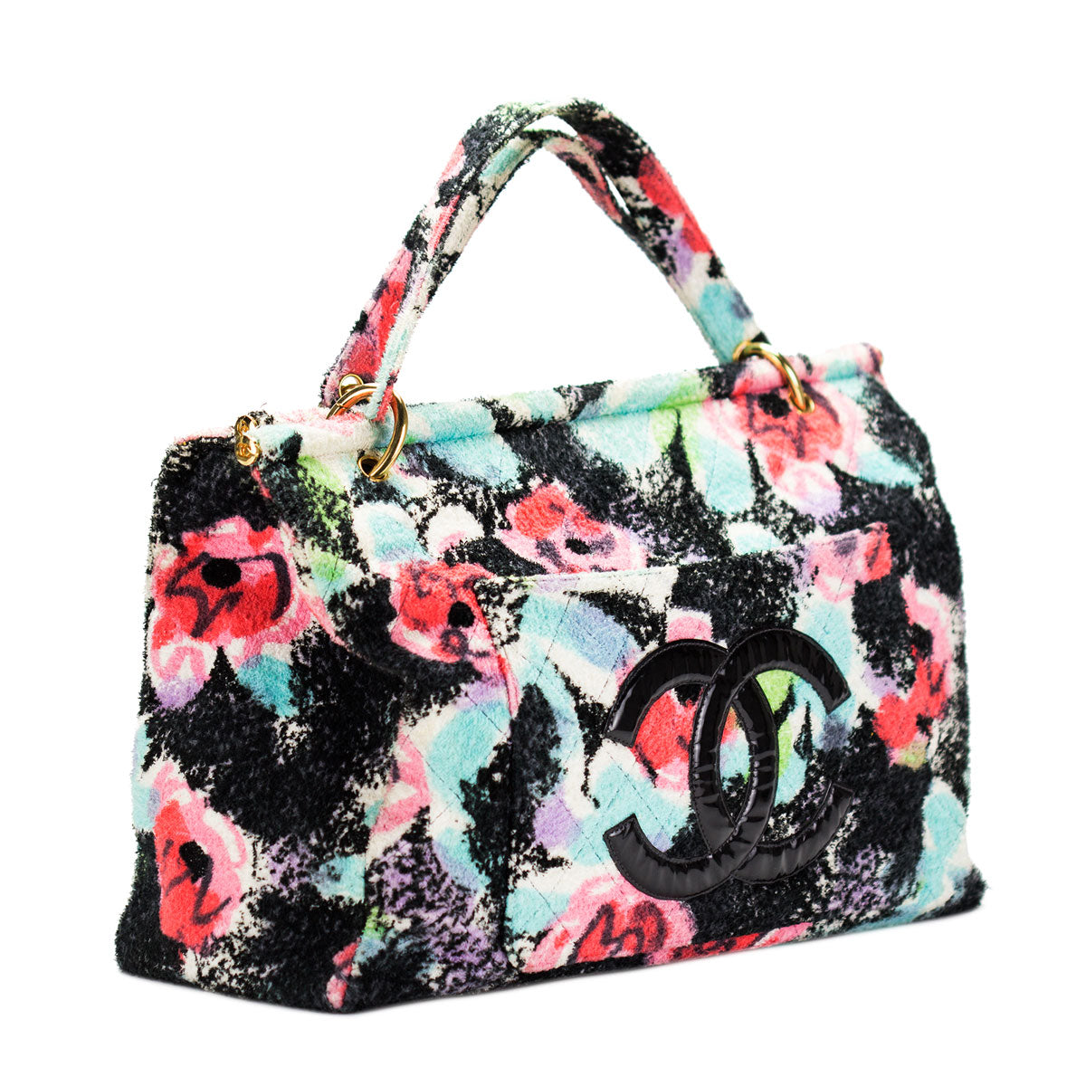 Graffiti Tropical Towel Tote