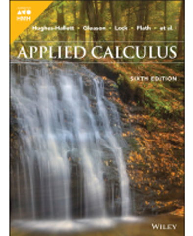 Applied Calculus Sixth Edition