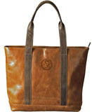 Westbridge Collection Two-Tone Leather Tote