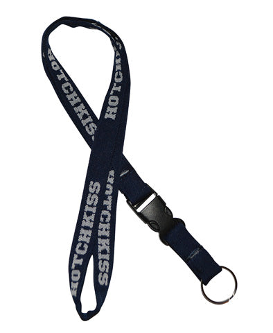 Lanyard with Detachable Key Ring