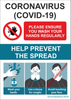 Free downloadable covid signage