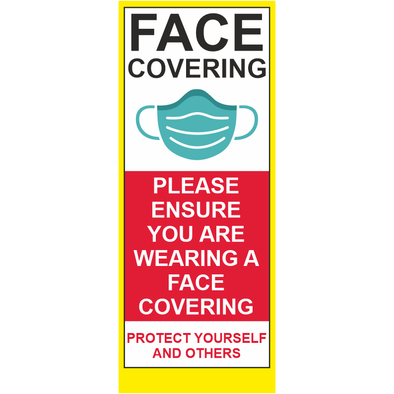 Face Covering Roller Banner