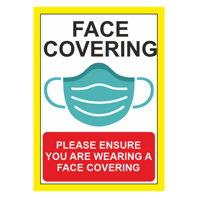 Face Covering Sticker