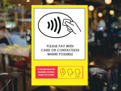 Contactless Pay Sticker