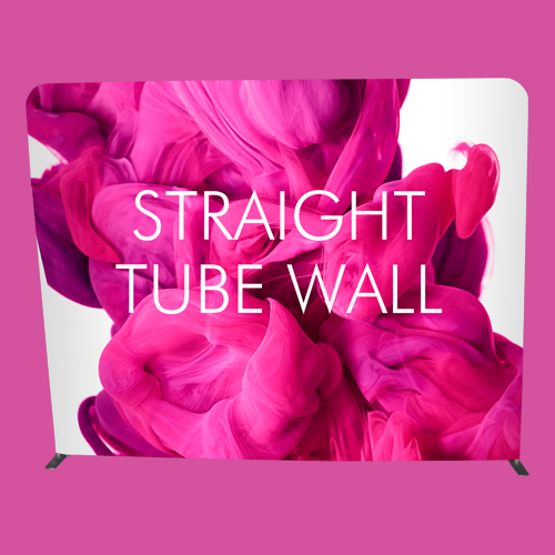Straight Fabric Wall