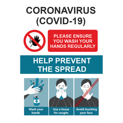Prevent Spread Poster