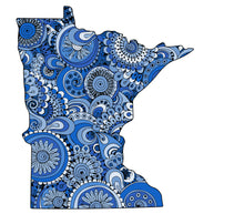 Color Me Minnesota Print