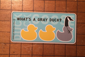 Duck Duck GOOSE Decal