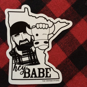 Hey Babe Decal