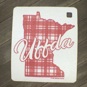 Minnesota UFFDA Swedish Dishcloth