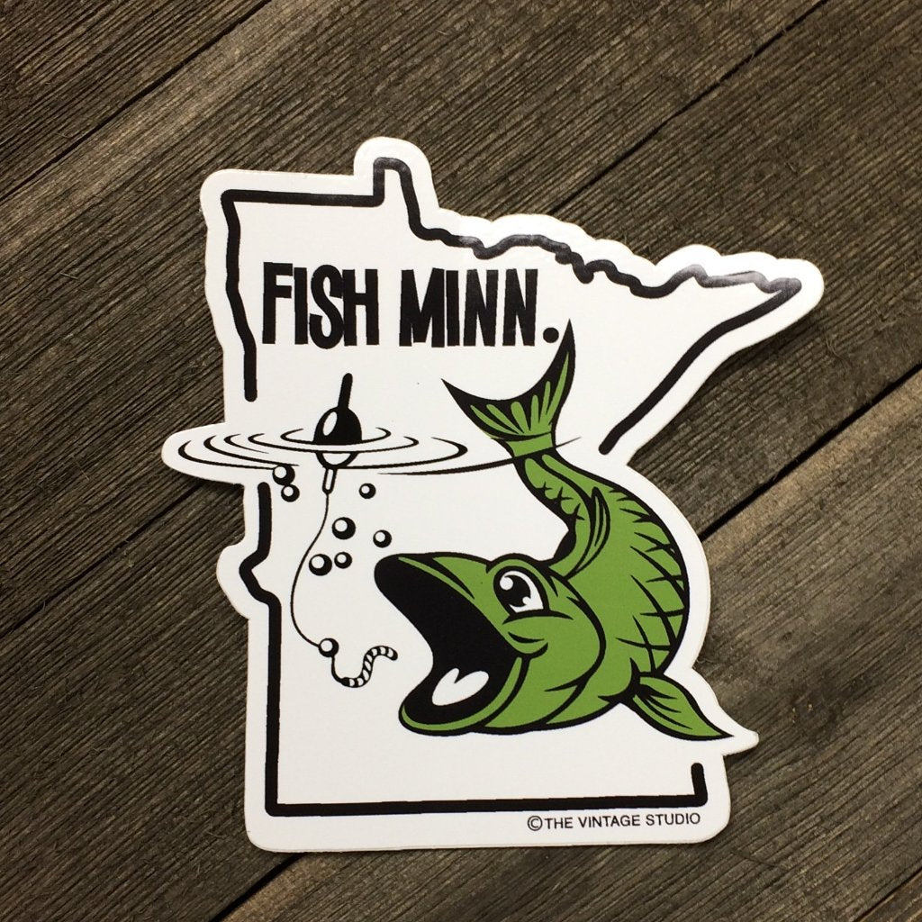FISH Minn Decal