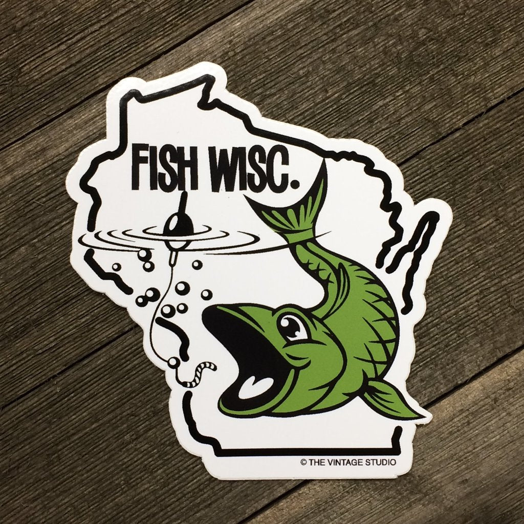 FISH Wisc Decal