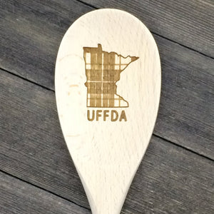 Minnesota UFFDA Wood Spoon