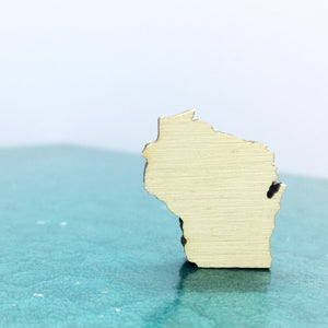 Wisconsin Lapel Pin