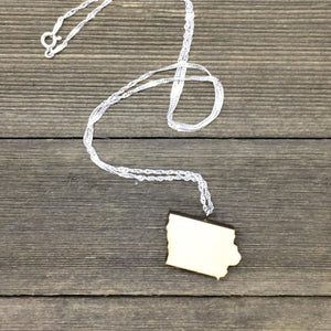 Iowa Sterling Silver Necklace