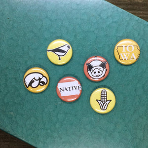 Iowa Magnet Set