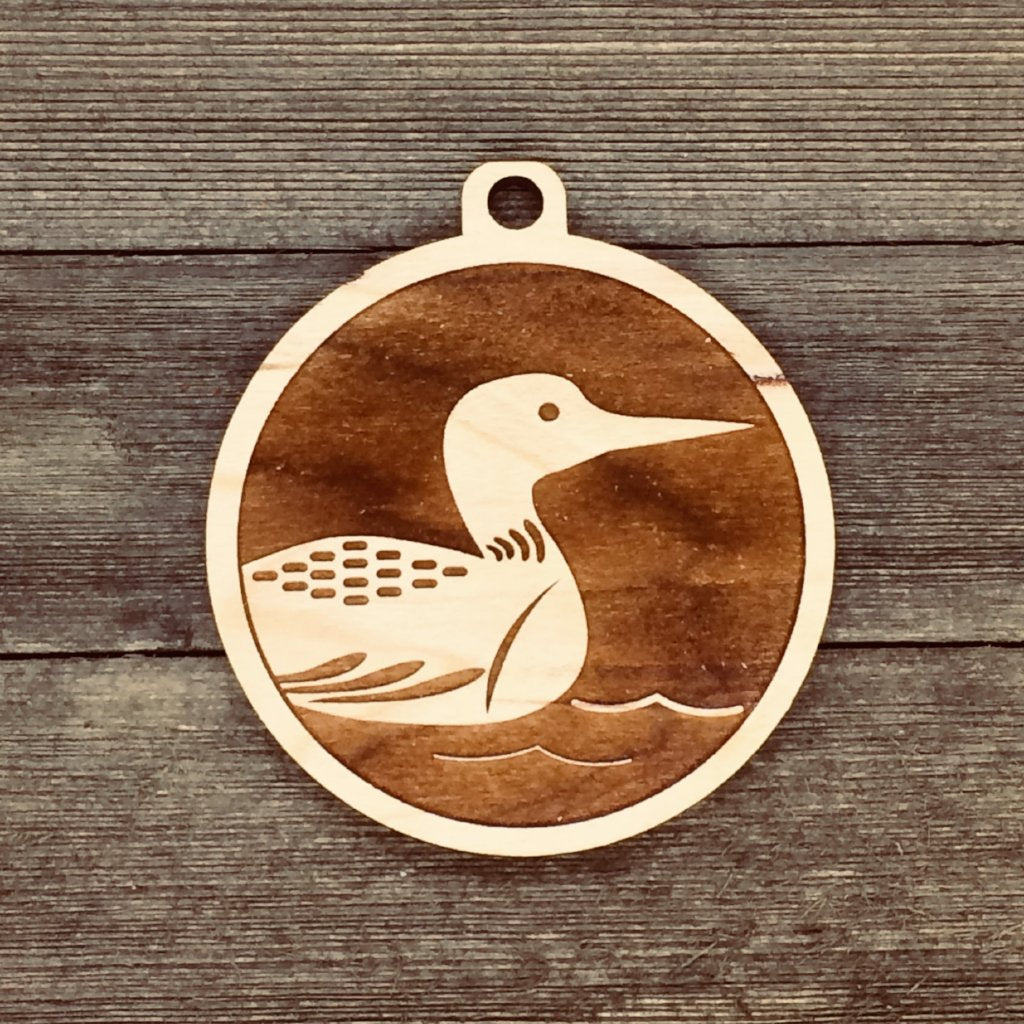 Loon Medallion - Minnesota State Bird