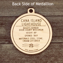 Wisconsin Cana Island Lighthouse Medallion